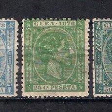 Sellos: ESPAÑA ULTRAMARCUBA 1878 - 9/32. Lote 147581850