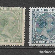 Sellos: ESPAÑA ULTRAMAR-CUBA 1891 -1897 EDIFIL 127 Y 149 - 9/32. Lote 147581954