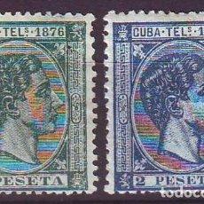 Sellos: CUBA TELEGRAFOS 35/36 NUEVOS LUJO . Lote 147719622