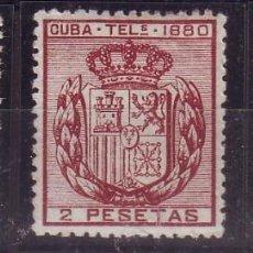 Sellos: AÑO 1880. CUBA TELEGRAFOS 49/51 VC 21 EUROS. Lote 147721882