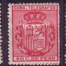 Sellos: AÑO 1882. CUBA TELEGRAFOS 52/54 NUEVOS VC 26 EUROS. Lote 147725498