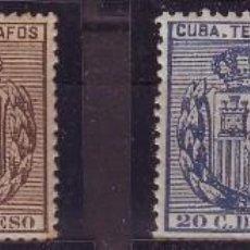 Sellos: CUBA TELEGRAFOS 77/80 NUEVOS VC 40 EUROS. Lote 147726750