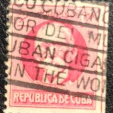 Sellos: SELLO 2 CENTAVOS, CUBA, 1910-1911, SERIE POLÍTICOS. Lote 147737510
