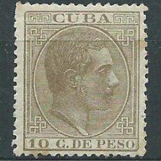 Selos: CUBA SUELTOS 1882 EDIFIL 72 * MH. Lote 151112416