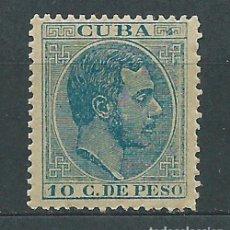 Selos: CUBA SUELTOS 1883 EDIFIL 103 * MH. Lote 151112520