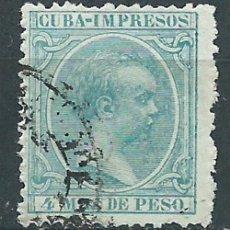 Francobolli: CUBA SUELTOS 1896 EDIFIL 144 O. Lote 151113353
