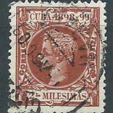 Francobolli: CUBA SUELTOS 1898 EDIFIL 154 O. Lote 151113441