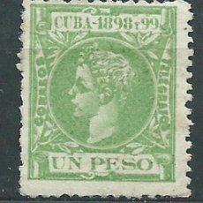 Sellos: CUBA SUELTOS 1898 EDIFIL 172 * MH. Lote 151113521