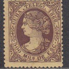 Sellos: CUBA SUELTOS TELEGRAFOS EDIFIL 2 ** MNH. Lote 151113541