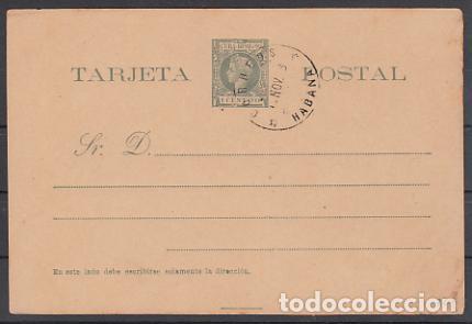 CUBA ENTEROS POSTALES 1898 EDIFIL 32 O (Sellos - España - Colonias Españolas y Dependencias - América - Cuba)