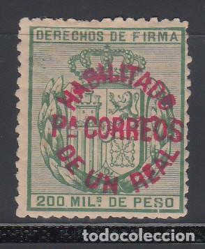 FILIPINAS, 1881 - 1888 EDIFIL Nº 66AI, *HABILITADOS PARA CORREOS* (Sellos - España - Colonias Españolas y Dependencias - América - Otros)