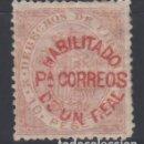Sellos: FILIPINAS, 1881 - 1888 EDIFIL Nº 66AJ, *HABILITADOS PARA CORREOS*. Lote 152336082