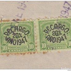 Sellos: REP-161 CUBA (LG-1006) 1947. COLONIA DE AGUACATE, ESPAÑA, SPAIN. REVENUE STAMPS TIMBRE NACIONAL.. Lote 154064558