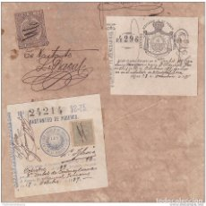 Sellos: 1891-UF-1 CUBA SPAIN ESPAÑA (LG-665) 1891 5C. POSTAGE + REVENUE LAWYER STAMPS + TIMBRE MOVIL.. Lote 154758152