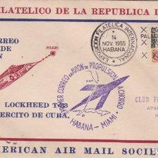 Sellos: 10118 -CUBA SOBRE PRIMER DIA CIRCULACION 1955. Lote 154850910