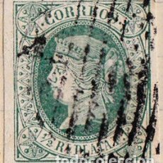 Sellos: 1864 - ANTILLAS - ISABEL II - EDIFIL 10. Lote 155384481