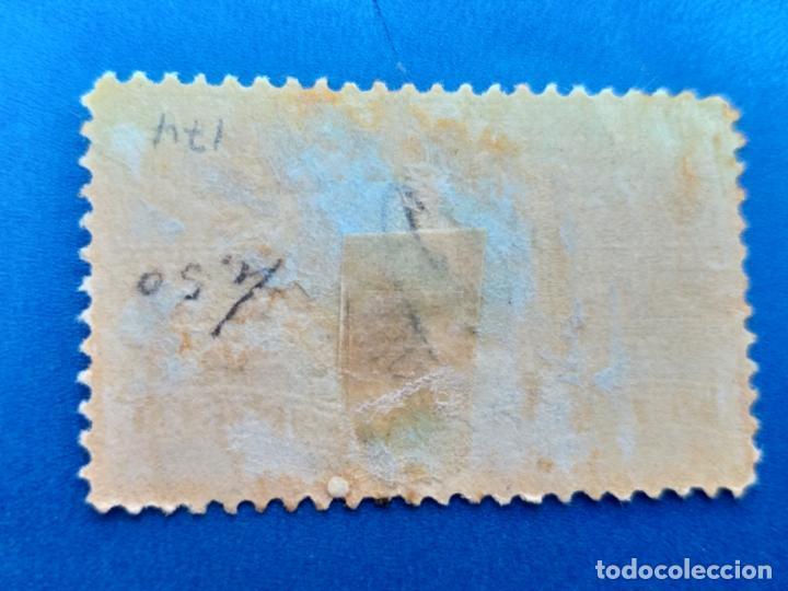 Sellos: Sello de Cuba. Año 1914. AEREO. Nº 174 GERTRUDIS GOMEZ DE AVELLANEDA. Matasello. - Foto 2 - 156014414