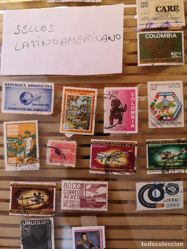 Sellos: LOTE DE SELLOS ANTIGUOS DE PAÍSES LATINOAMERICANOS,NO SE DESCOMPLETA EL LOTE - Foto 3 - 158665306