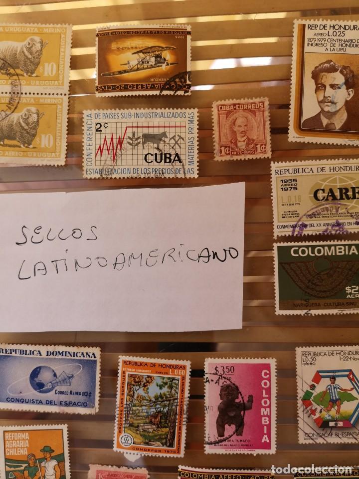 Sellos: LOTE DE SELLOS ANTIGUOS DE PAÍSES LATINOAMERICANOS,NO SE DESCOMPLETA EL LOTE - Foto 4 - 158665306