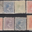Sellos: PUERTO RICO. 1891-92 EDIFIL Nº 86, 89, 91, 94, 98, 99, 100, 111, . Lote 159432534