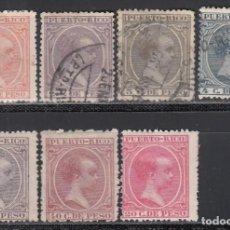 Sellos: PUERTO RICO. 1894 EDIFIL Nº 104, 107, 108, 109, 112, 113, 114, . Lote 159432962
