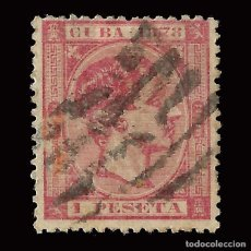 Sellos: CUBA 1878 ALFONSO XII.1P.USADO.EDIFIL49.. Lote 160434798