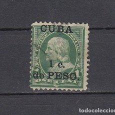 Sellos: CUBA 1899.SELLO DE ESTADOS UNIDOS 1 CENT.SOBRECARGADO CUBA 1 C.DE PESO.YVERT 136.USADO.. Lote 161288358