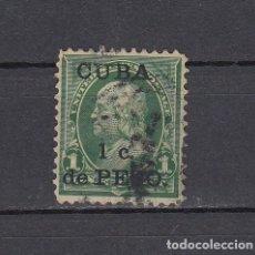 Sellos: CUBA 1899.SELLO DE ESTADOS UNIDOS 1 CENT.SOBRECARGADO CUBA 1 C.DE PESO.YVERT 136.USADO.. Lote 161288450