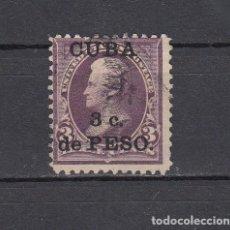 Sellos: CUBA 1899.SELLO DE ESTADOS UNIDOS 3 CENT.SOBRECARGADO CUBA 3 C.DE PESO.YVERT 139.USADO.. Lote 161291986