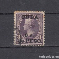 Sellos: CUBA 1899.SELLO DE ESTADOS UNIDOS 3 CENT.SOBRECARGADO CUBA 3 C.DE PESO.YVERT 139.USADO.. Lote 161292002