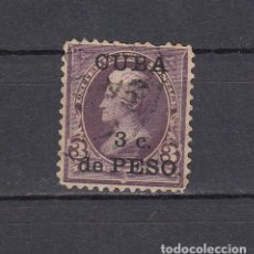 Sellos: CUBA 1899.SELLO DE ESTADOS UNIDOS 3 CENT.SOBRECARGADO CUBA 3 C.DE PESO.YVERT 139.USADO.. Lote 161292034