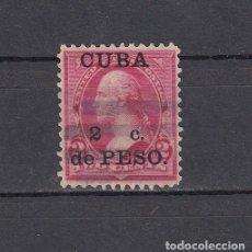 Sellos: CUBA 1899.SELLO DE ESTADOS UNIDOS 2 CENT.SOBRECARGADO CUBA 2 C.DE PESO.YVERT 139.USADO.. Lote 161292122
