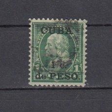 Sellos: CUBA 1899.SELLO DE ESTADOS UNIDOS 1 CENT.SOBRECARGADO CUBA 1 C.DE PESO.YVERT 139.USADO.. Lote 161292218