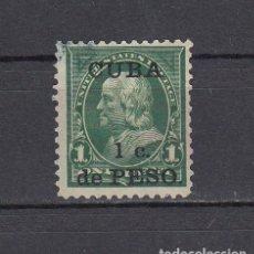 Sellos: CUBA 1899.SELLO DE ESTADOS UNIDOS 1 CENT.SOBRECARGADO CUBA 1 C.DE PESO.YVERT 139.USADO.. Lote 161292242