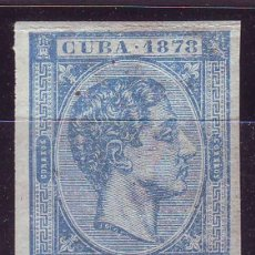 Sellos: AÑO 1877. CUBA 44 SIN DENTAR **MNH VC 30 EUROS. LUJO. Lote 163773418