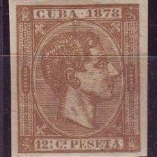 Sellos: AÑO 1878 CUBA 46 SIN DENTAR MNH VC 45 EUROS LUJO. Lote 163775274