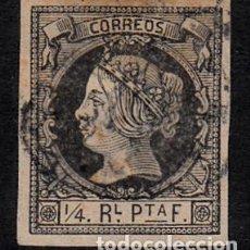 Sellos: CUBA 1862 - NUM 11 USADO . Lote 164955650