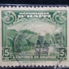 Sellos: SELLO, REPUBLICA HAITI, 5 CENTIMOS, AÑO 1940,. Lote 168215744