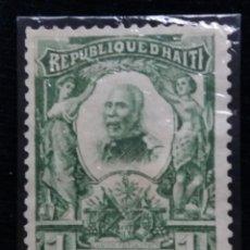 Sellos: SELLO, REPUBLICA HAITI, 1 CENTIMO, AÑO 1904,. Lote 168216016