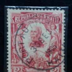 Sellos: SELLO, REPUBLICA HAITI, 2 CENTIMO, AÑO 1904,. Lote 168216140
