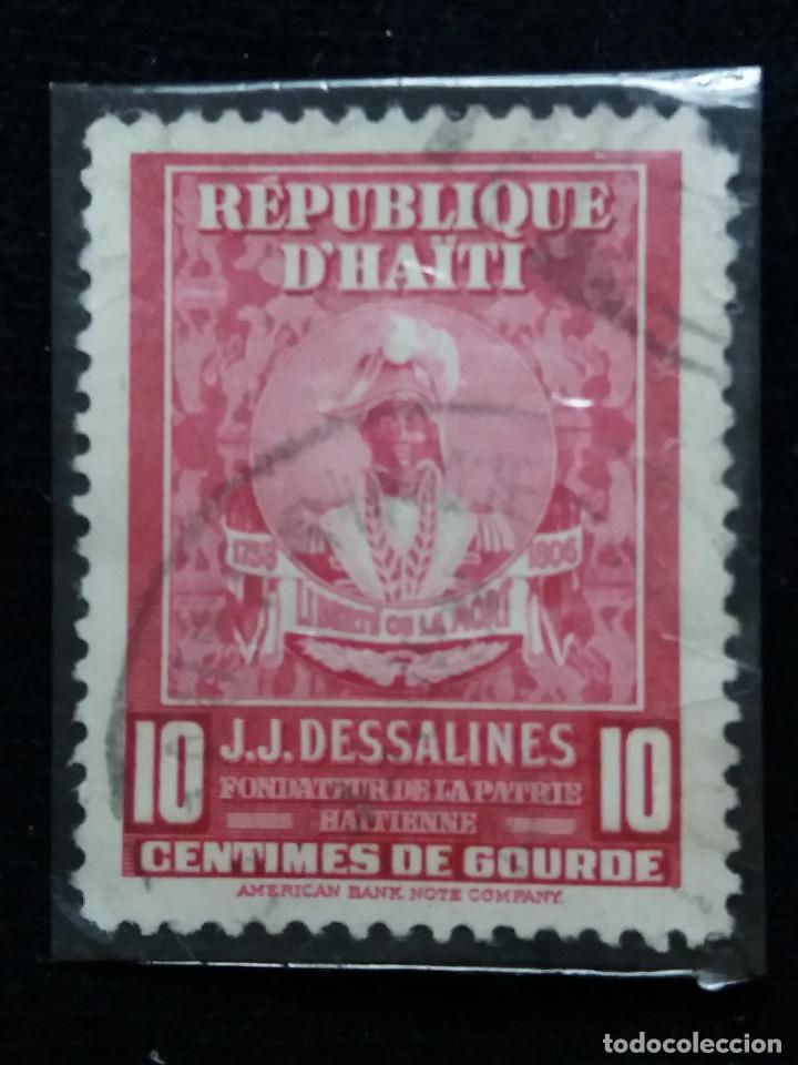 SELLO, REPUBLICA HAITI, 10 CENTIMO, AÑO 1900, (Sellos - España - Colonias Españolas y Dependencias - América - Otros)