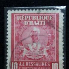 Sellos: SELLO, REPUBLICA HAITI, 10 CENTIMO, AÑO 1900,. Lote 168216356