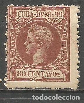CUBA EDIFIL NUM. 171 * NUEVO CON FIJASELLOS (Sellos - España - Colonias Españolas y Dependencias - América - Cuba)