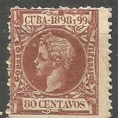 Sellos: CUBA EDIFIL NUM. 171 * NUEVO CON FIJASELLOS. Lote 177001573