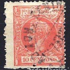 Timbres: 1898 PUERTO RICO EDIFIL 142 - 10 CENTAVOS - ALFONSO XIII - USADO. Lote 177121877