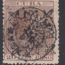 Sellos: CUBA, 1883 EDIFIL Nº 88. Lote 178123545