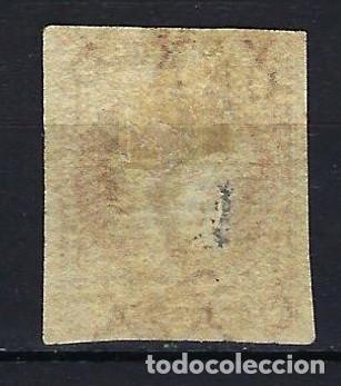 Sellos: ANTILLAS CUBA 1855 - ISABEL II - EDIFIL 3 - USADO CON FILIGRANA DE LAZOS - Foto 2 - 179055137