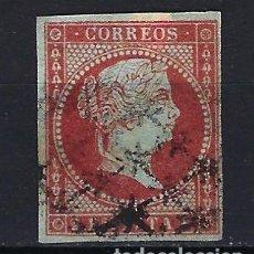 Sellos: ANTILLAS CUBA 1855 - ISABEL II - EDIFIL 3 - USADO CON FILIGRANA DE LAZOS. Lote 179055156