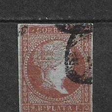 Sellos: ESPAÑA ANTILLAS 1855 EDIFIL 3 - 2/60. Lote 179544178