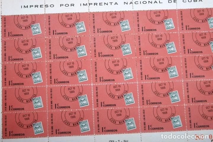 Sellos: 375 sellos cubanos en 11 pliegos. 1961/1970. Nuevos, con fijasello - Foto 3 - 180331002